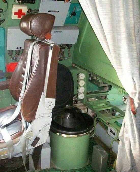 Toilets in military aircraft?